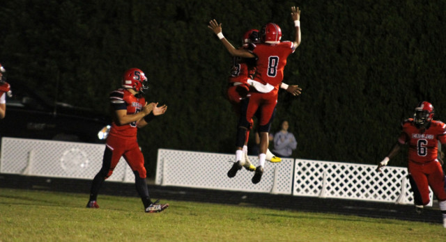 Eagles Dominate Coyotes 59-0 For Homecoming Victory