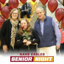 Cheer Senior Night 2/21/17