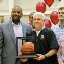 Coach Davis' 500th Win Celebration
