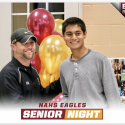 Boys Tennis Senior Night 2017