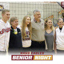 Volleyball Senior Night 10/3/2017