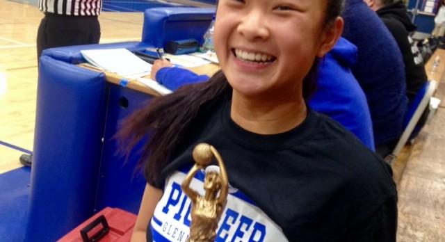 Joyce Chen Earns Spot on All-Tournament Team!