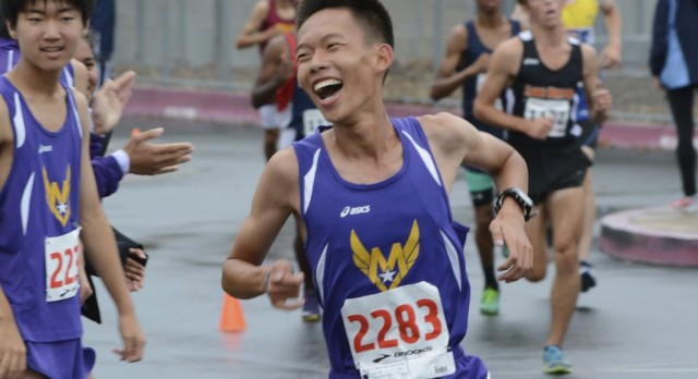 """Cross Country's Bennett Zhang named to """"All-CCS"""" Team!"""