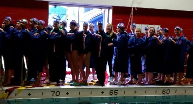 Simley High School Girls Varsity Swimming beat Henry Sibley Senior High School 95-83