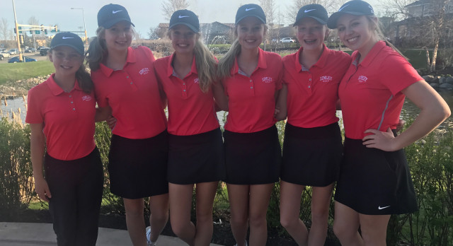 Simley High School Girls Varsity Golf beat Tartan High School 170-202