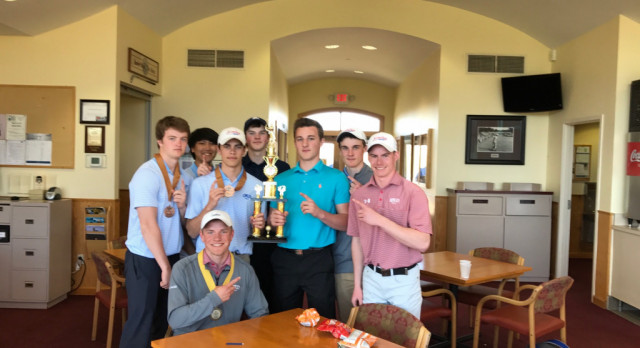 Simley High School Boys Varsity Golf finishes 1st place