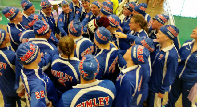 Simley High School Girls Varsity Swimming finishes 2nd place