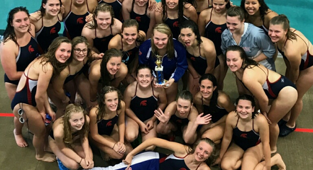 Simley High School Girls Varsity Swimming finishes 3rd place