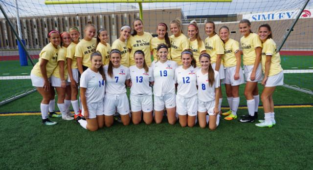 Simley High School Girls Varsity Soccer beat Hastings High School 2-1