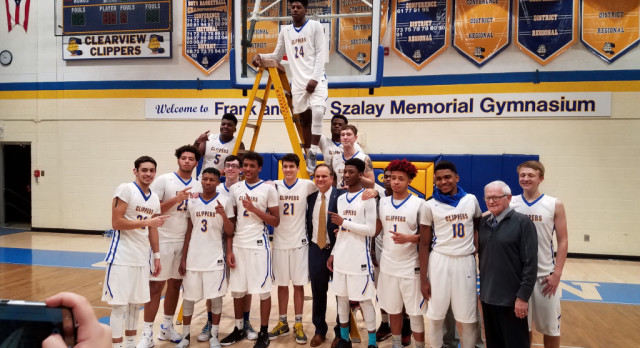 Boys Basketball:  Clippers Clinch PAC Title with OT Win over Oberlin