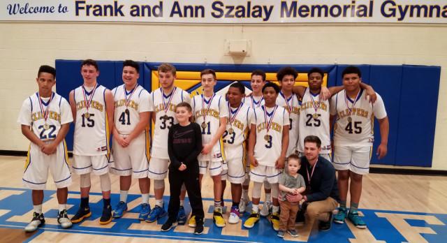 Boys Basketball:  Clearview Wins PAC Freshmen Tournament Championship
