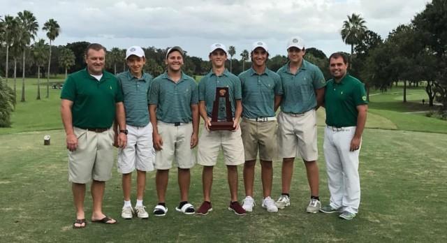 Boys Golf Wins 3A Team Title