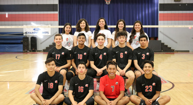 St. Pius X – St. Matthias Academy Boys Varsity Volleyball falls to Woodcrest Christian 3-1