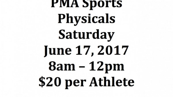 PMA Sports Physicals