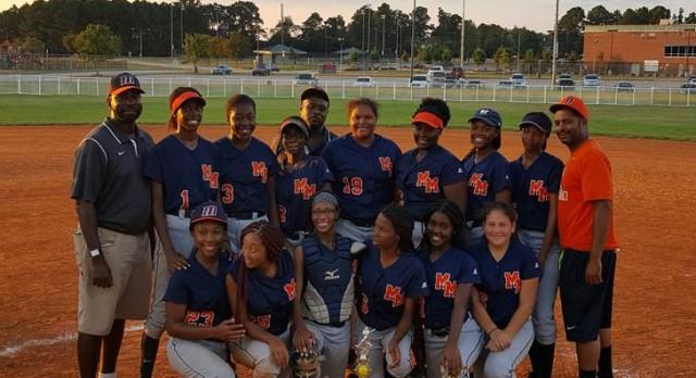2016 Softball CHAMPS