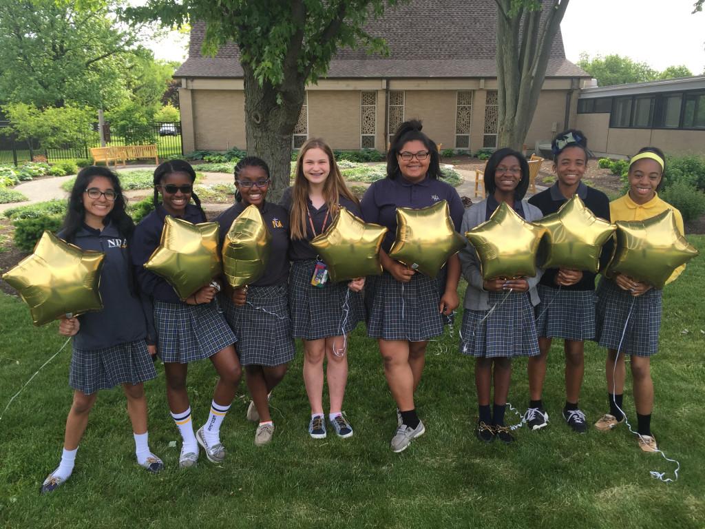 7th & 8th Grade CYO Diocesan Track & Field Meet Champions!