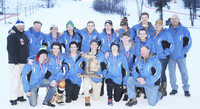 Seven comes easy: Petoskey boys earn seventh straight ski title by wide margin