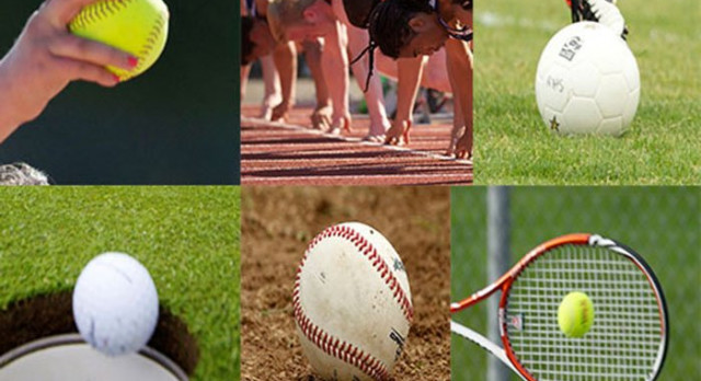 Reminder: Spring Sports start Monday, March 13. You must have a current physical on file in the athletic office before you're able to participate. Contact the athletic department if you need information on which sports are practices when/where.