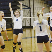 Petoskey opens district with sweep, advance to Gaylord semifinal
