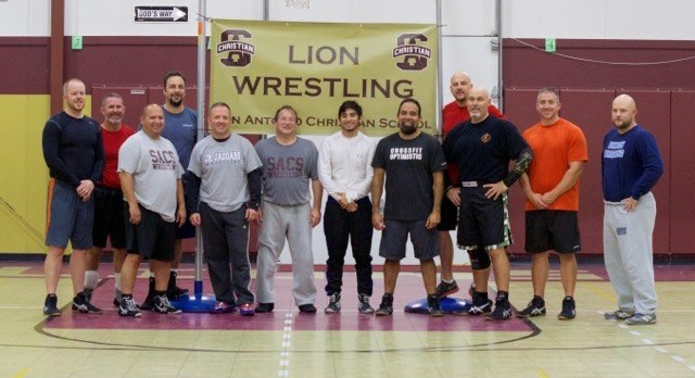DAD WRESTLING CLINIC