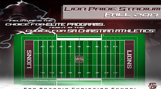 LION PRIDE Stadium is getting a MAJOR Upgrade- FieldTurf Surfaces!