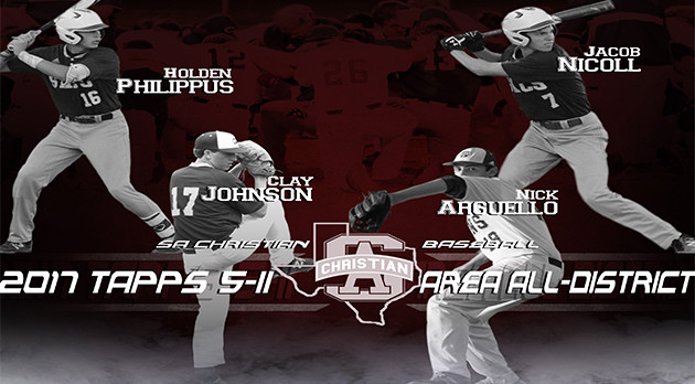 2017 TAPPS 5-II AREA ALL DISTRICT – BASEBALL