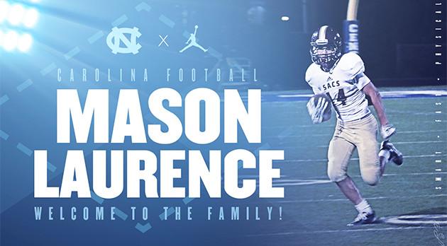 Mason Laurence: UNC Football