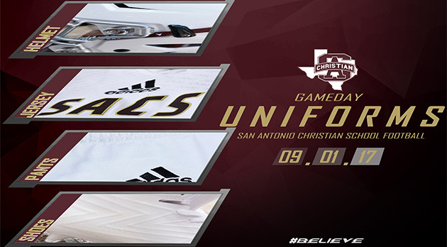 GAMEDAY UNIFORMS – SACS vs SA Cole