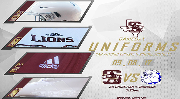 9.8.17 GAMEDAY UNIFORMS – SACS @ Bandera 7:30pm
