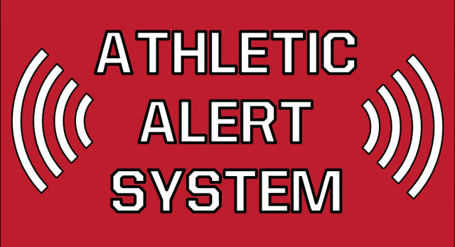 """Athletic Alerts"""