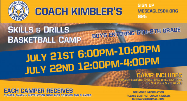 2017 Middle School Boys Basketball Camp