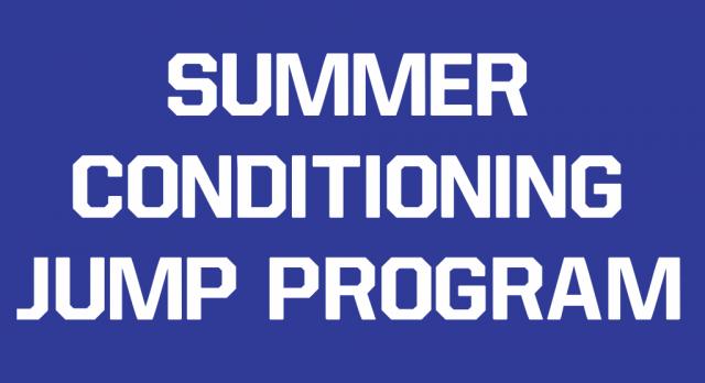 2017 Summer Conditioning Jump Program