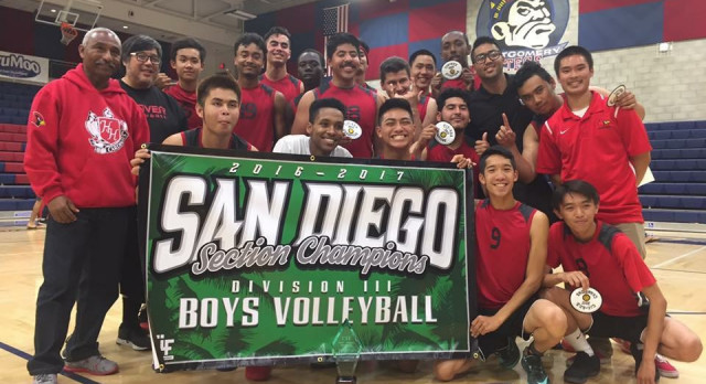 Boys Volleyball CIF Division III champs!