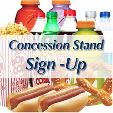 Fall Concession Stand Volunteer Sign Up