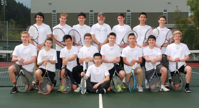Congratulations Boys Tennis – 2017 TRL Dual Match & District Champions