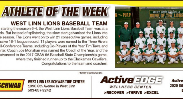 Athletes of the Week – Baseball