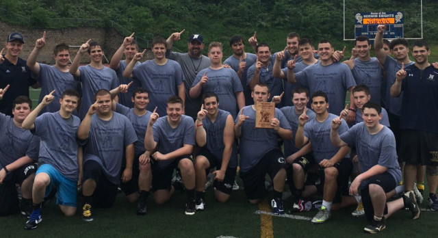 Knights win 3rd Annual Norwin Lineman Challenge