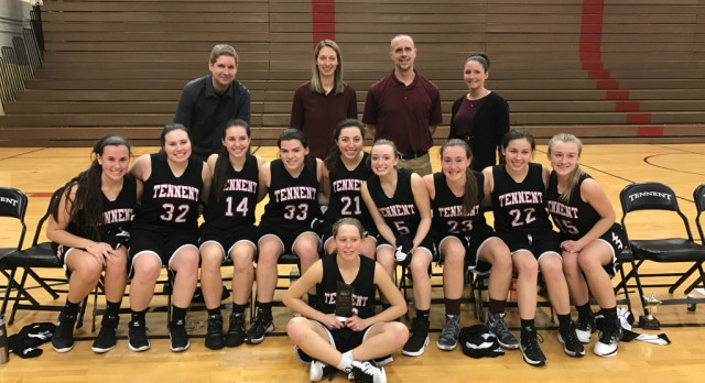 William Tennent High School Girls Varsity Basketball Win 2016 Holiday Classic