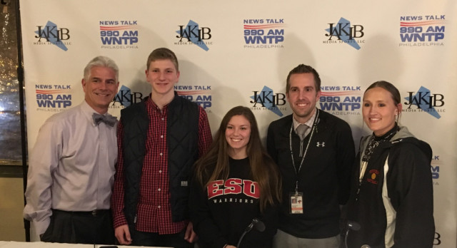 Matt Kraus, Marissa Govan & Coach Myers Participate on The High School Sports Show