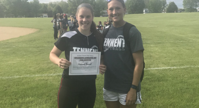 Reimel Selected as Student Athlete of the Month