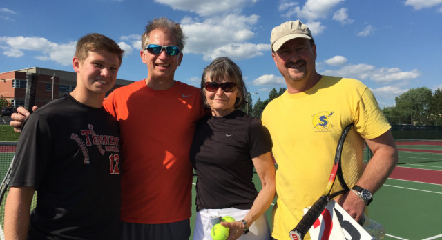 Mixed Up Doubles Tennis Tournament – Always a Hit