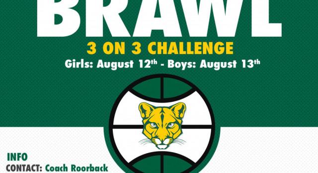 3v3 Basketball Challenge — 5th Gr and up — Boys & Girls — Back to School Brawl!