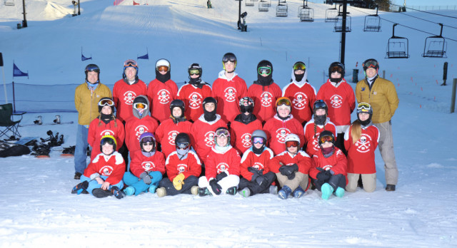 Men's BoarderCross Placed 2nd at the State Finals!