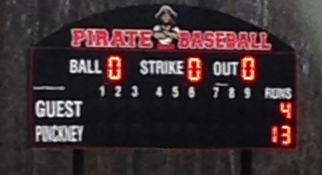 Pirate Sluggers Down the Big Reds!