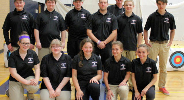 Archery Teams Place Second in Competition