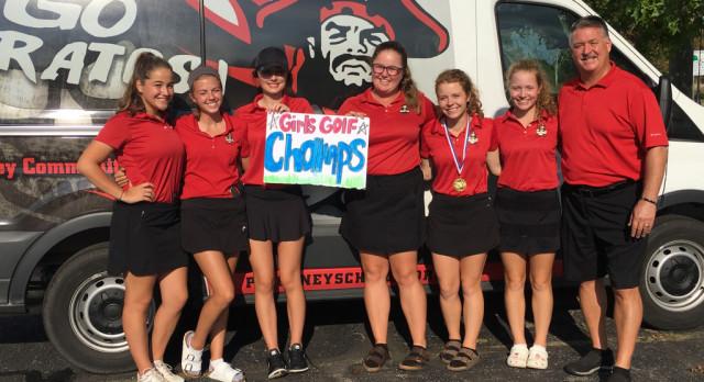 Pirate Girls Golf win SEC Title!