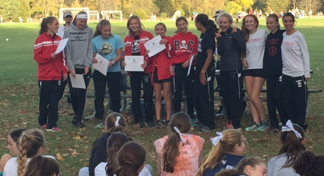 Girls Cross Country Wins SEC