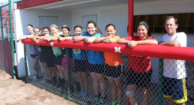 "MHS Softball Enjoys New ""Digs"""