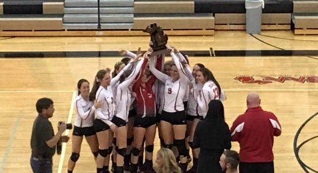 Trojans bring home Regional Championship in Volleyball