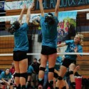 JV Volleyball Teal Attack vs Ida
